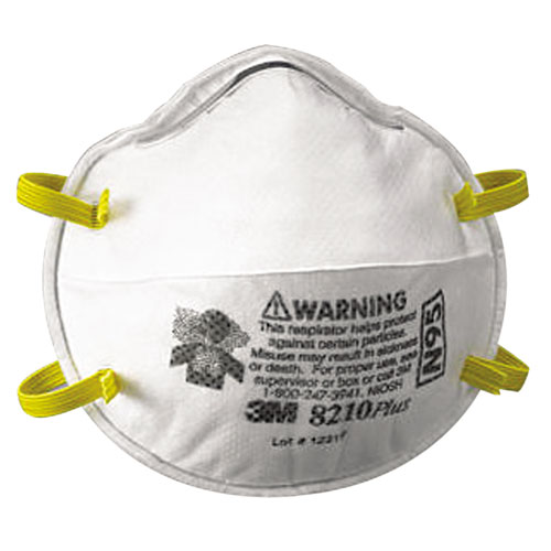N95 PARTICULATE RESPIRATOR RED 20EA/BOX
