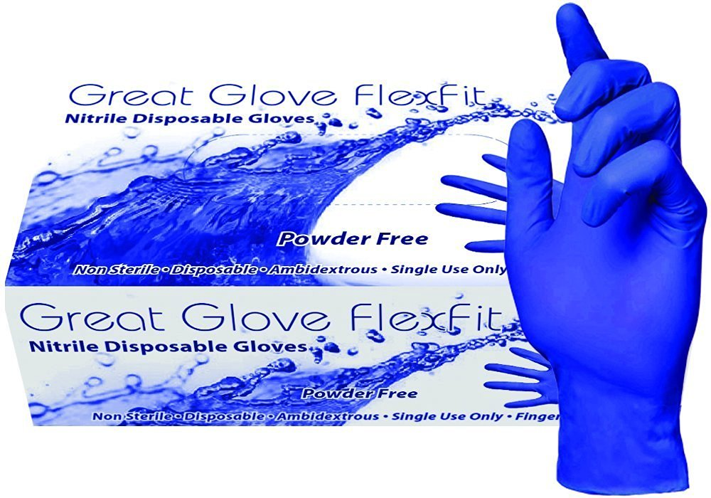 FlexFit SOFT Nitrile Powder-Free 200/BX 10BX/CASE