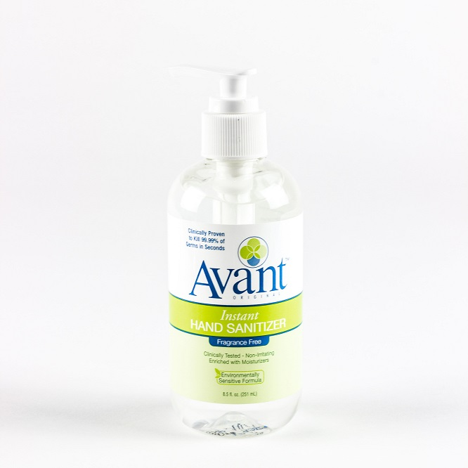 Avant, Hand Sanitizer, 8.5oz  Pump Bottle, Sold